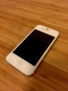Unlocked White iPhone 4 16G - Perfect Battery Life