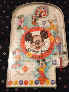 Vintage Mickey Mouse Pinball