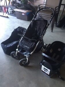 Three piece travel system