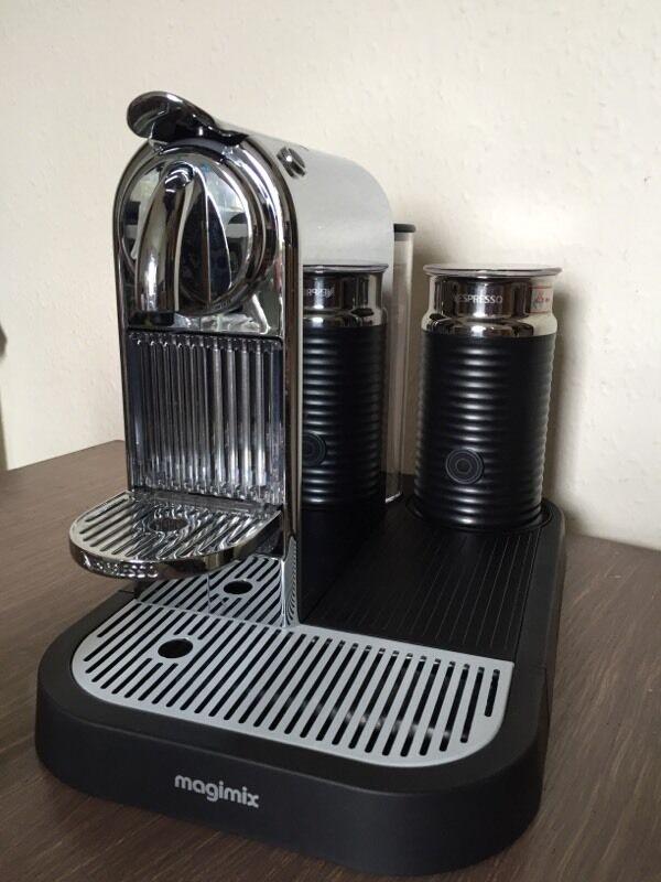 Nespresso Magimix Citiz Coffee Espresso Machine & Milk Aeroccino ...