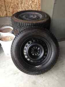 Winter tires & rims 245/65R17