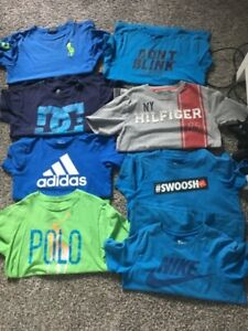 Boys t-shirts age between 10-12/ large