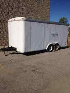 PACE UTILITY TRAILER - 16' X 8' - DUAL AXLE