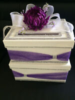 Sophisticated Wedding Card Boxes - SALE