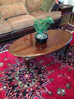 Gibbard coffee table and end tables