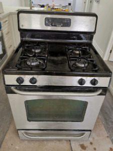 GE Stainless Steel  Gas Stove for sale