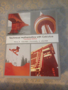 """Technical Mathematics with Calculus"" Canadian Edition Textbool"