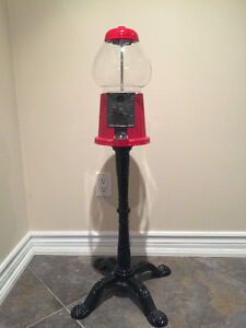 Like New Vintage - Metal/Glass Dispenser with Metal Stand