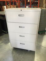 4-High Metal Lateral File Cabinets (Various Available)