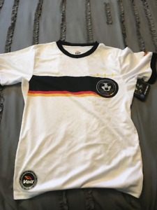 GERMANY VOLT OFFICIAL WORLD CUP YOUTH SOCCER JERSEY!