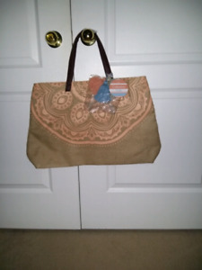 Beautiful brand new beach tote