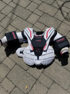 Goalie Skates Pants and Chest Protector