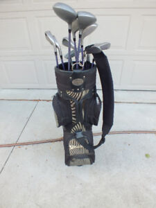 Right Handed Ladies 12pcs Golf Clubs Set with Bag