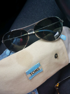 Tom's polarized sunglasses!