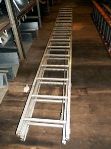 32' Aluminum Extension ladder - $120