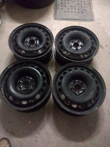 4 rims 16 pouces pour Volkswagen 5x112