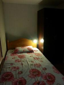 1 Bedroom basemen for rent- Walking distance to BCC & transit