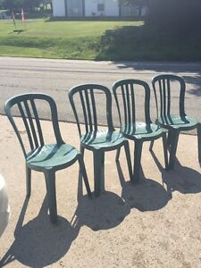 Patio chairs - bistro style