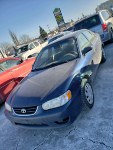 2001 Toyota Corolla 5 speed For Sale or Trade