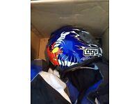 AGV limited edition Scotland helmet