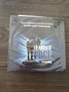 Real Estate Leaders Edge Course book  and CD's