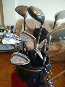 Golf clubs and free bag