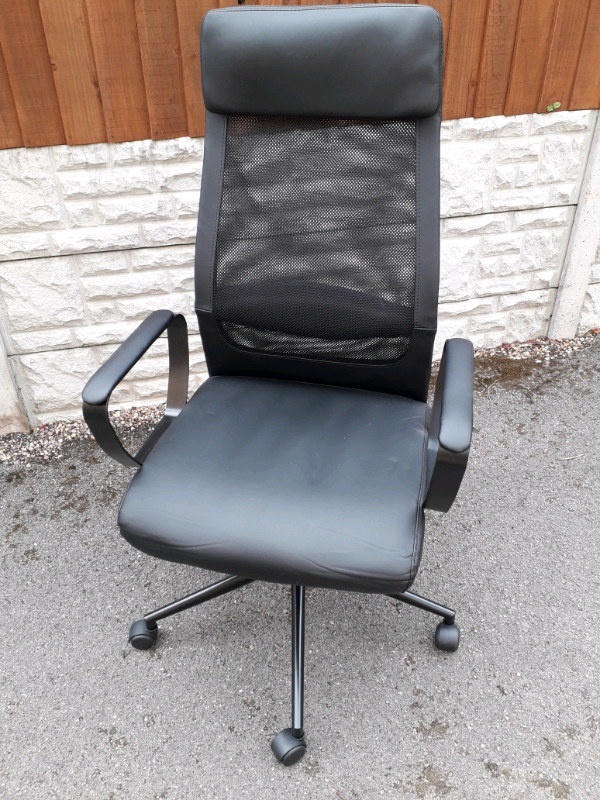 Omari Mesh Ergonomic Office Chair Black Argos Home In Coalville Leicestershire Gumtree