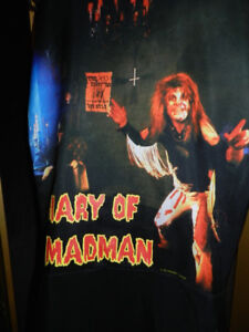 RV/CAR 2 NIB Old Stock OZZY Diary Of A MADMAN Bucket Seat Covers