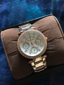 Michael Kors Watch (Rose Gold- Women's Watch)