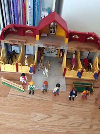 Playmobil horse sets