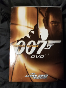James Bond Collection Volume Two used DVD Box Set