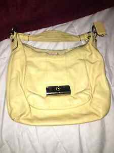 Large Yellow Coach Purse