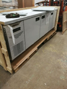 Commercial resurant fridge an freezers