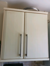Kitchen cabinet doors with handles Maple Sandford