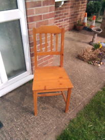 Good solid chair as shown £3