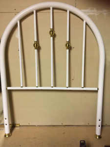 Single bed headboard and frame