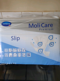 New Sealed Molicare Incontinence Slip Pads