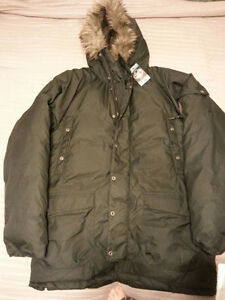 Brand new with tags large down filled coat