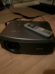 SONY VIDEO PROJECTOR