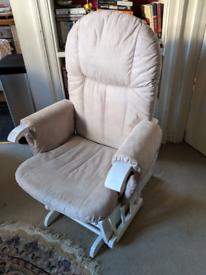 Nursery Glider Rocking Chair Tutti Bambini