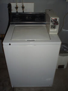 Coin Op Commercial Washer & Dryer
