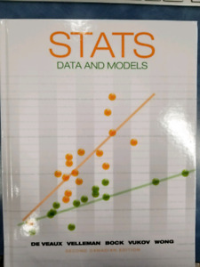 STATS 151- Stats: Data and Models 2nd Canadian Editiom