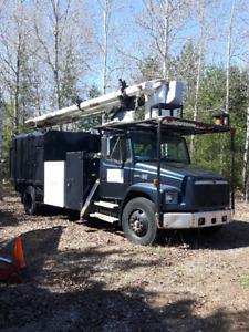 Camion nacelle Freightliner 1999