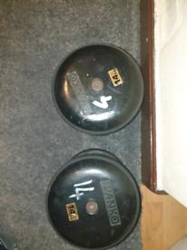 14kg Olympic dumbbells
