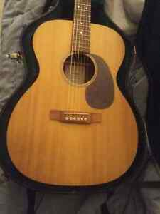 Martin ooom acoustic guitar trade for good quality drums  Cambridge Kitchener Area image 1
