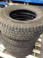 Set of 4 barely used Goodyear Wrangler 265/70 R17
