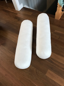 *NEW* bolster shaped pillow forms, $10/each