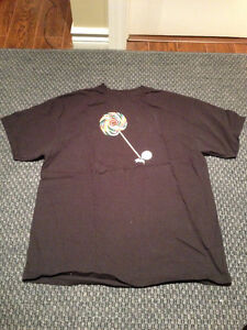 Stussy lollipop black t-shirt size XL brand new