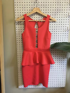 Party/ Cocktail Dress - Charlotte Russe - Pink - Size: Small