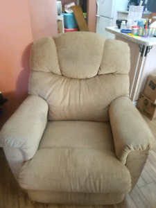 Lazy boy reclining chair